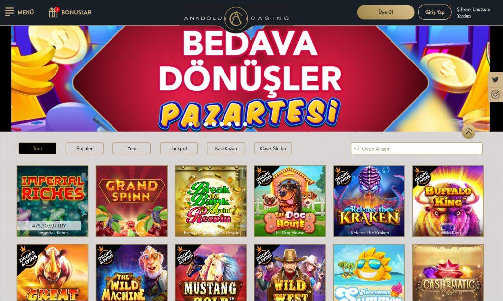 Anadolu casino para Г§ekme gГјvenilir mi